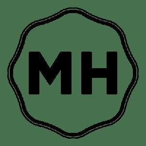 Mark Huebsch 'MH' Logo