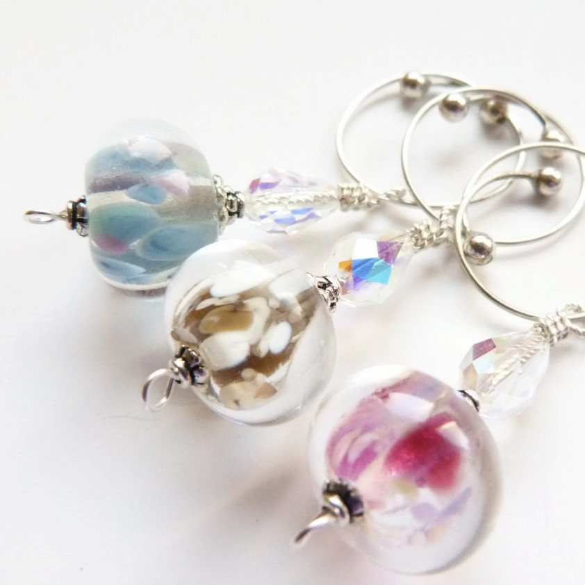 Ethereal Removable Locking Stitch Marker