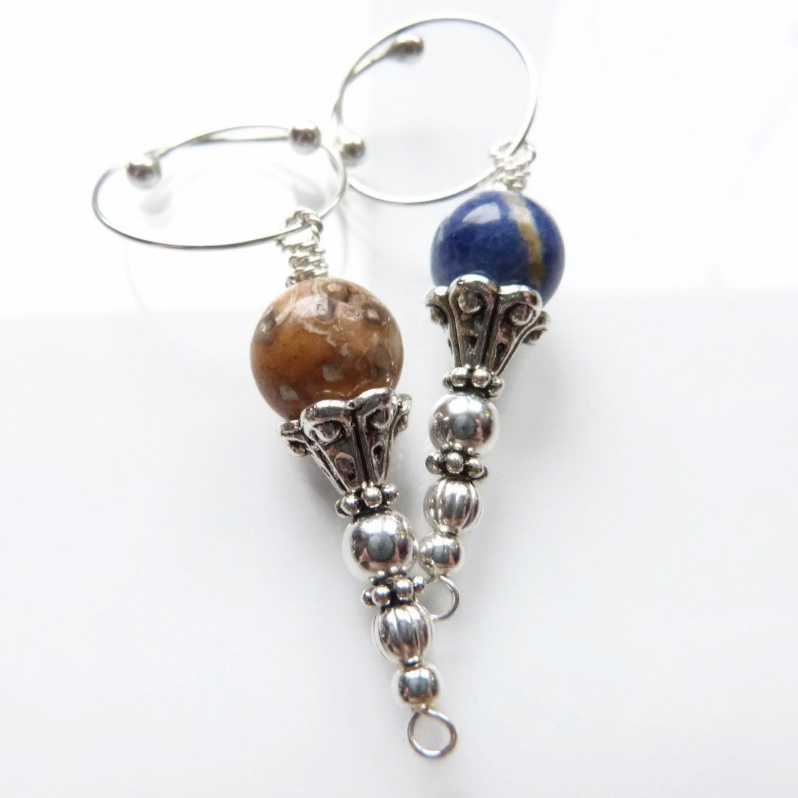 Garden Bath Removable Locking Stitch Marker
