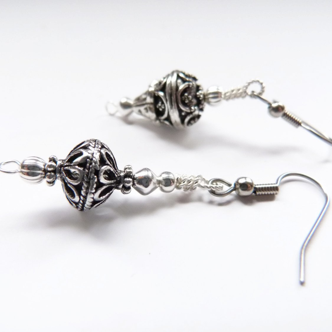 High Tea Dangle Earrings