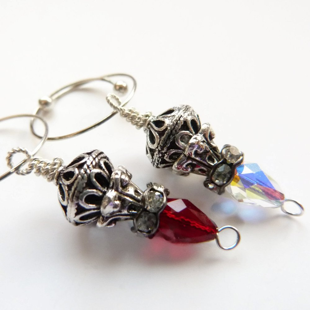 Lamplit Eve Removable Locking Stitch Marker