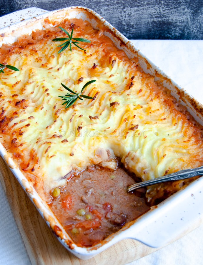 Simple cottage pie recipe for the whole family