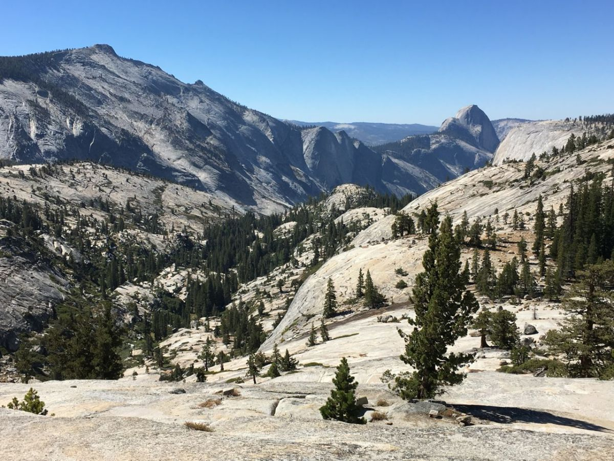 Olmstead Point Yosemite
