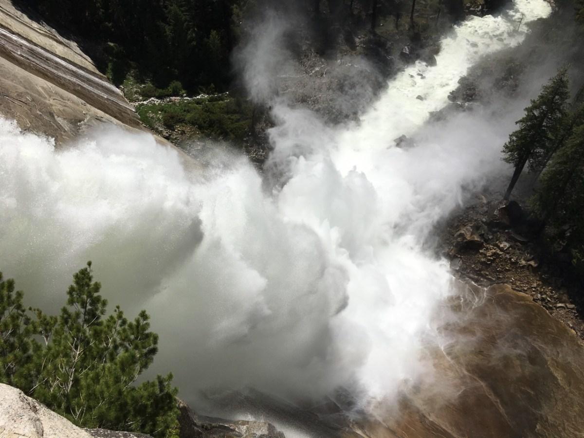 Nevada Falls Yosemite