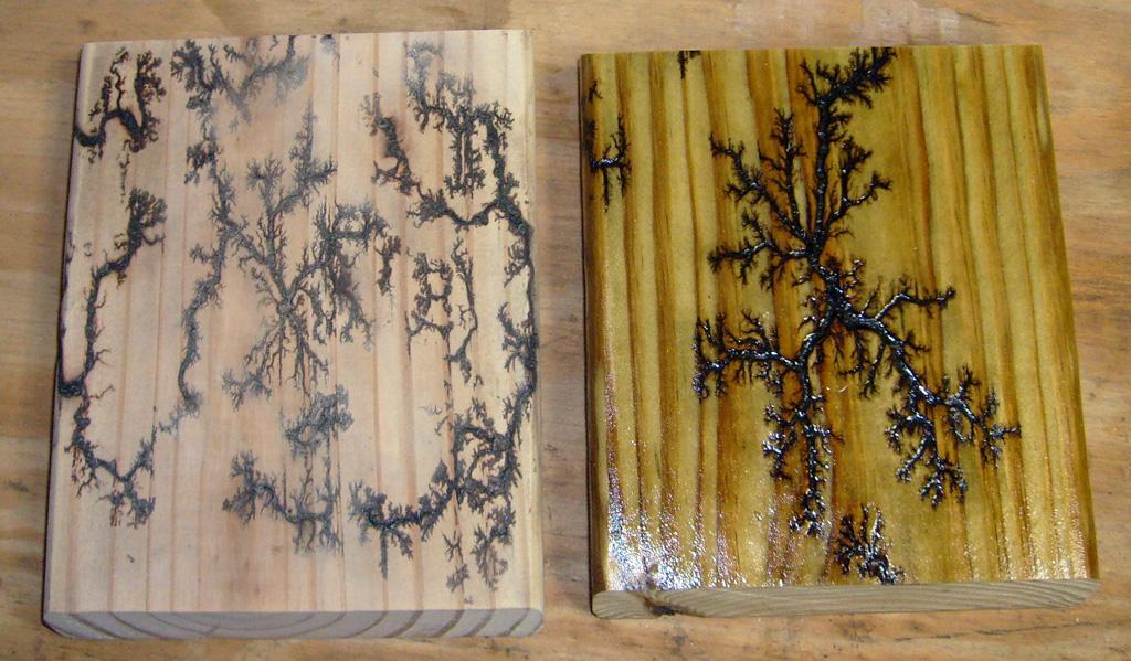 Electrified Wood Burning