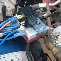 Automotive Electric Fan Relay Wiring Diagram Markism Jeep Conversion