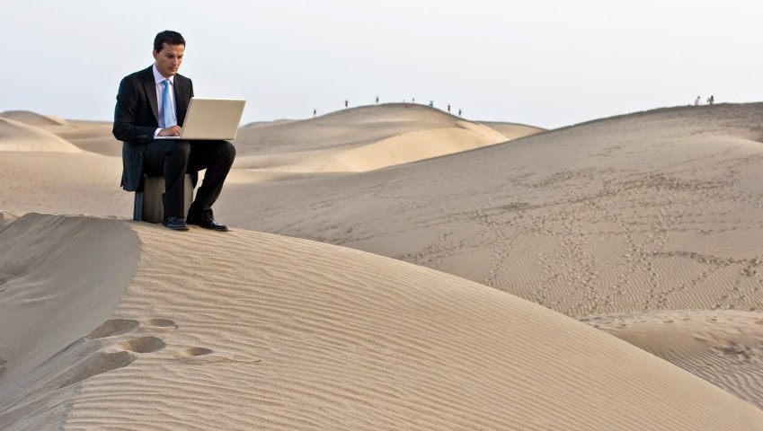 Can remote workers become productive?