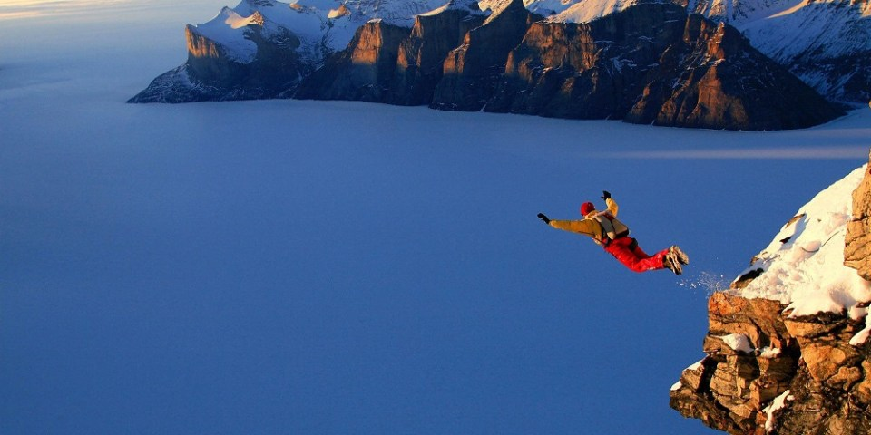 Is Entrepreneurship like jumping off the cliff and inventing a parachute along the way?