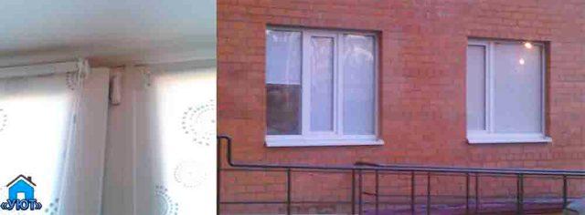 рулонная штора на пластиковое окно с фотопечатью