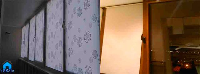 кассетные рулонные жалюзи для окна ПВХ
