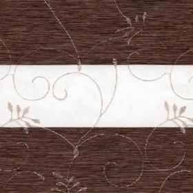 зебра ВАЛЕНСИЯ 2871  т.коричневый