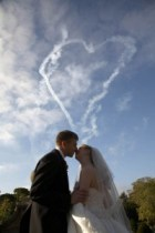 JO&PETER's wedding-mark jefferies wedding air display
