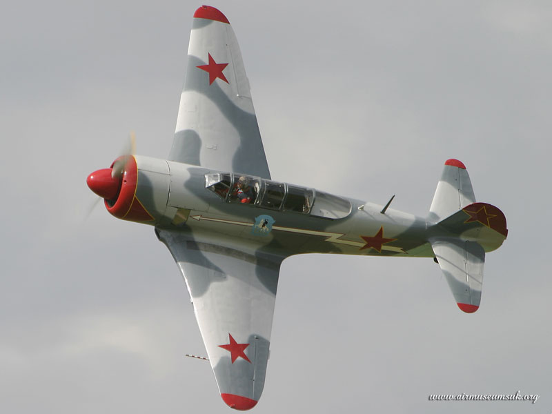 Yak 11 G-BTUB - Mark Jefferies