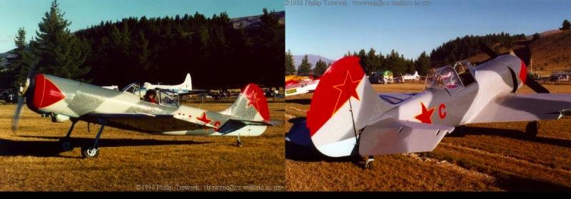 Wanaka airshow YAK 50 flown by Mark Jefferies
