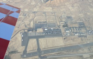 Bahrain Sakhir Air Base from 10,000ft