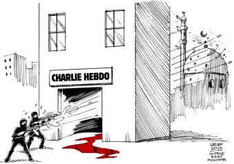 Charlie Hebdo - Mosque
