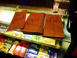 makeshift barf bags