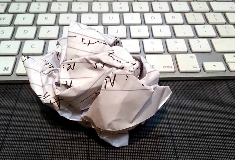 Writers Block Business blog photo example