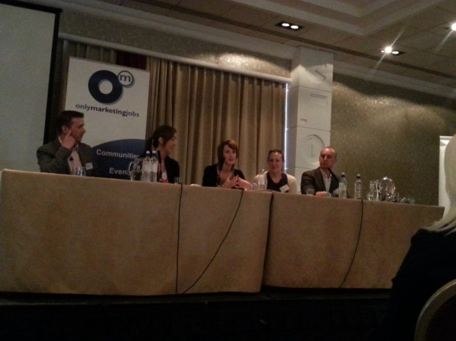 On The Edge Manchester #edgeManc panel debate - Attending On The Edge Digital - digital marketing best practices