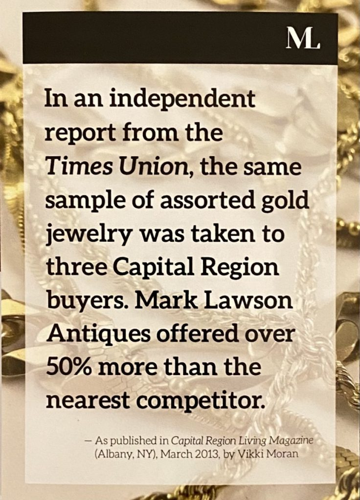 Where To Sell Gold Jewelry For Best Price Near Me : where, jewelry, price, Undercover, Appraisal, Lawson, Antiques