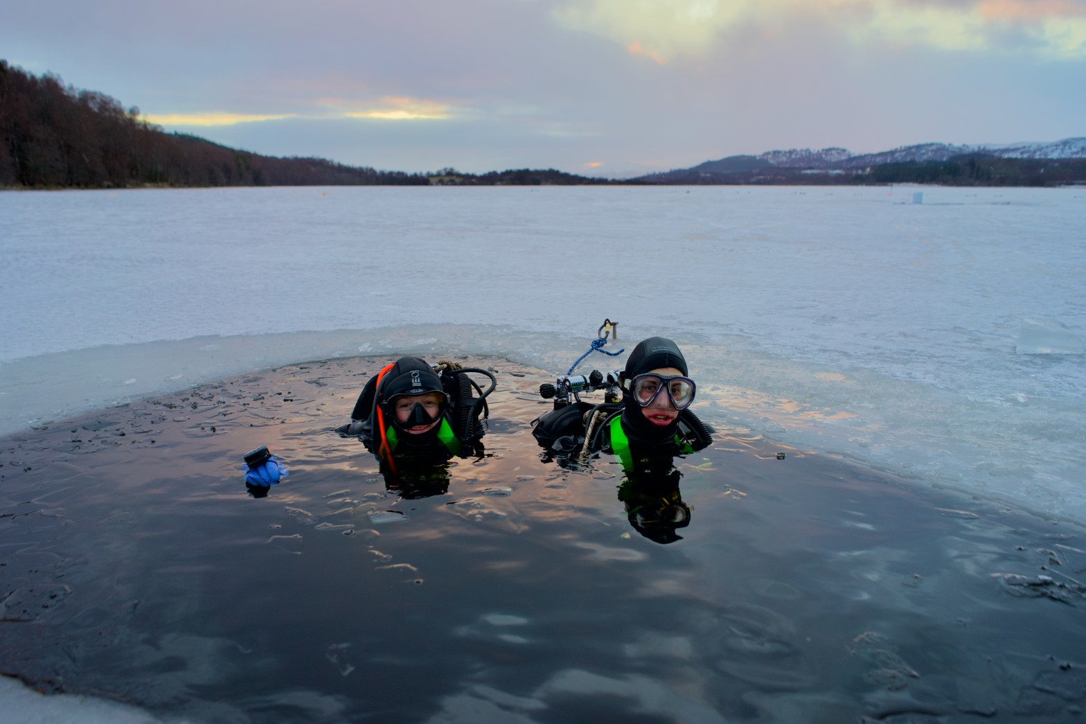 Ice Diving UK