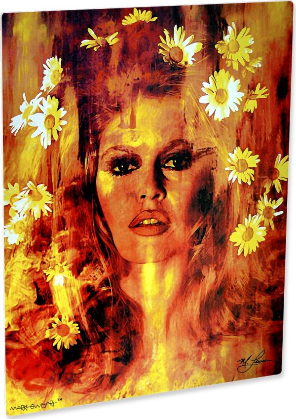 Life Captured - Brigette Bardot Art Print Painting Wall
