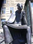 Albertus Magnus Monument in front of the main ...