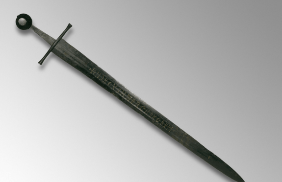 Mystery of the Medieval Sword Inscription