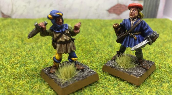 Oldhammer C04 Thieves Picker Pete Lightfinger and Renaldo the Roof Rat