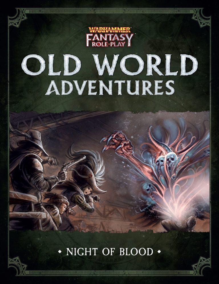 Not One but Two New Warhammer Fantasy Roleplay (WFRP