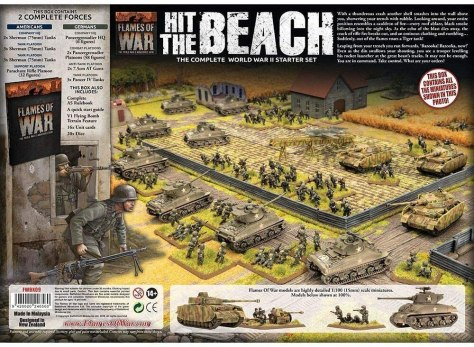 Flames of War Hit the Beach - contents