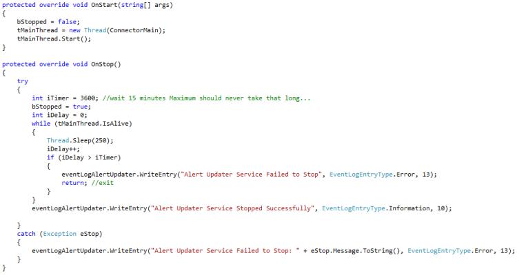 SCOM Alert Updater Service – connector example updating SCOM