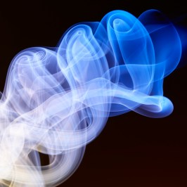 colourful smoke by London photographer Mark Mawson