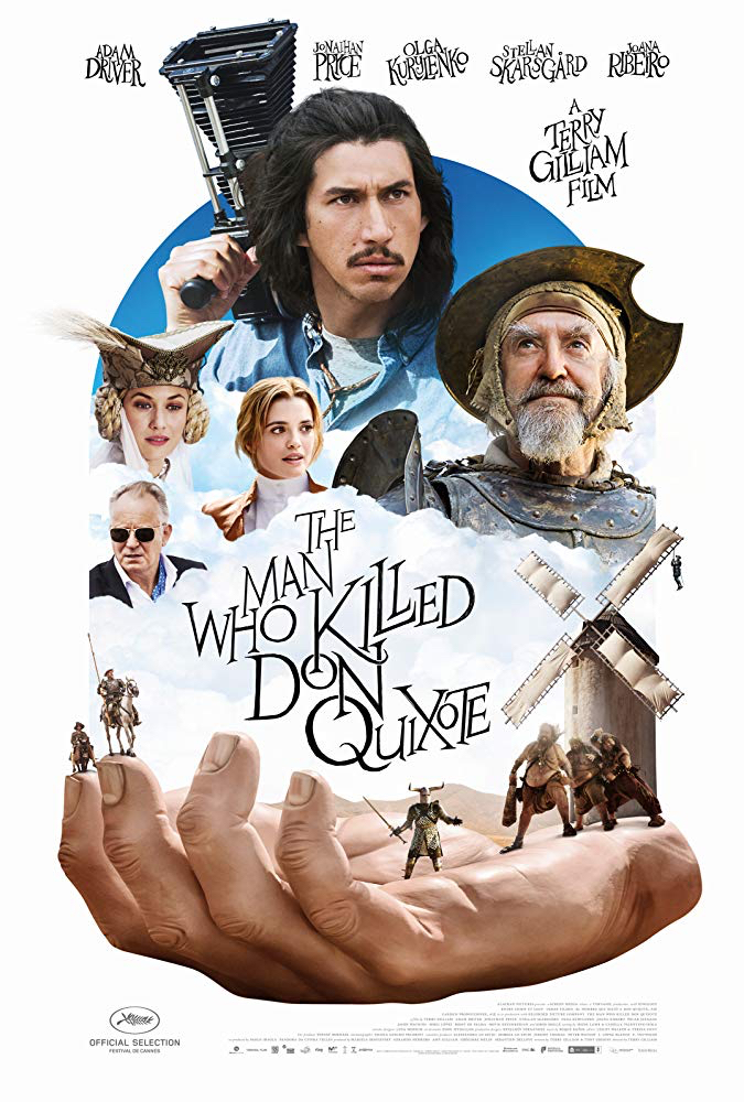 "Poster for ""The Man Who Killed Don Quixote"""