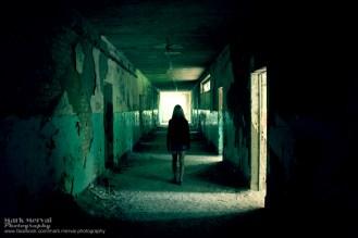 Az iskola folyosóján