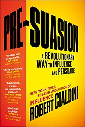 Book Cover: Pre-Suasion
