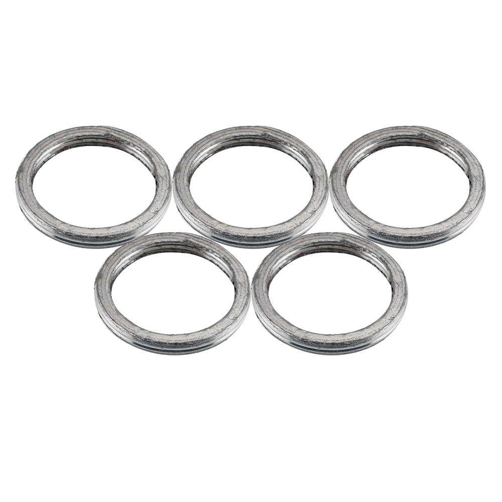 5PCS Exhaust Gasket Kit 823070 For Yamaha BW200 85-88
