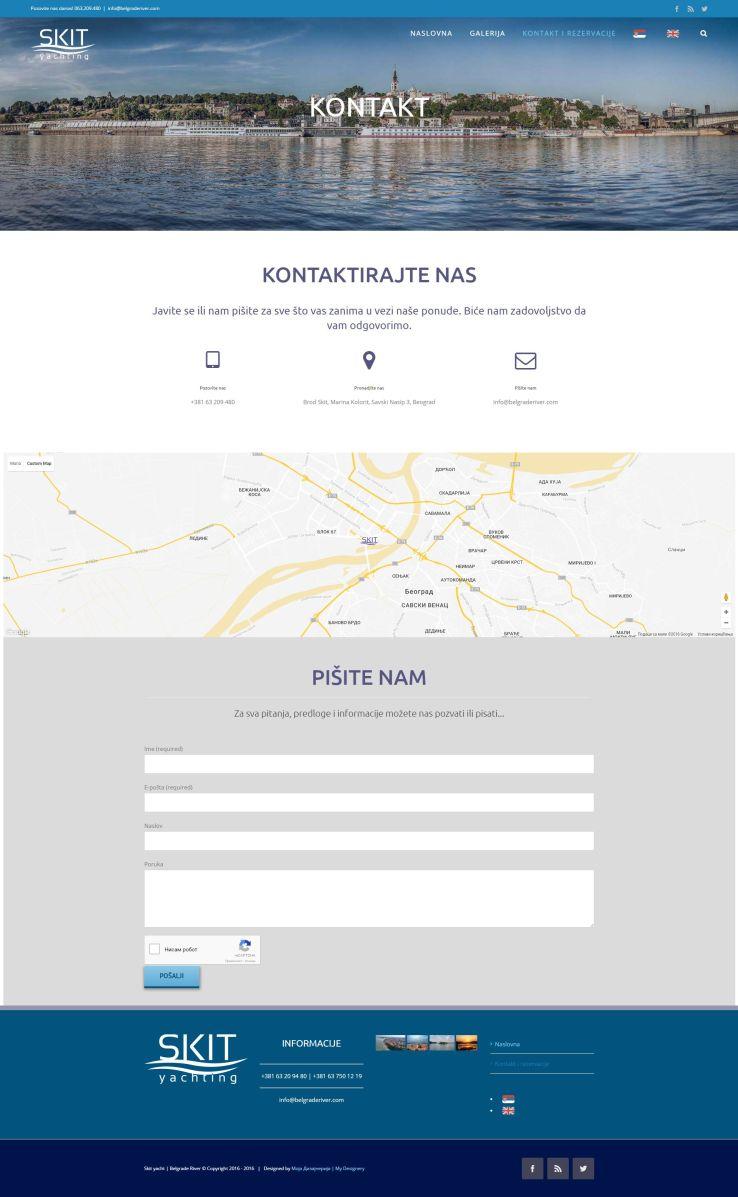Контакт страница