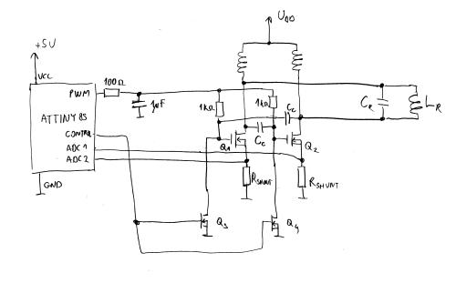 small resolution of miniature wireless power demonstrator marko s science site wireless power demonstration circuit basic schematic