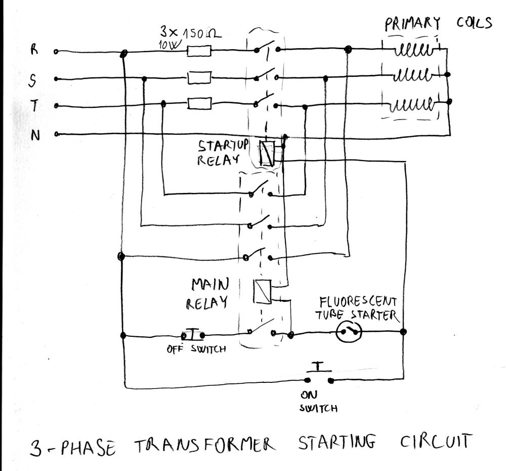 medium resolution of variable transformer starter circuit marko s science site
