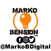 Logo Marko Bension Redes sociales