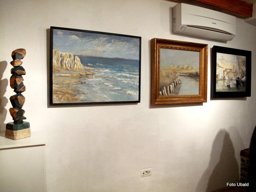 Exhibition in Gallery BF, Piran  (4/6)