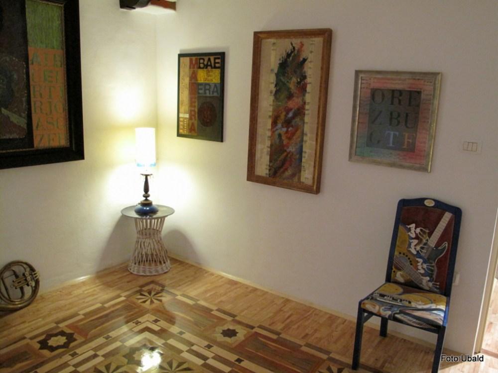 Exhibition in Gallery BF, Piran  (5/6)