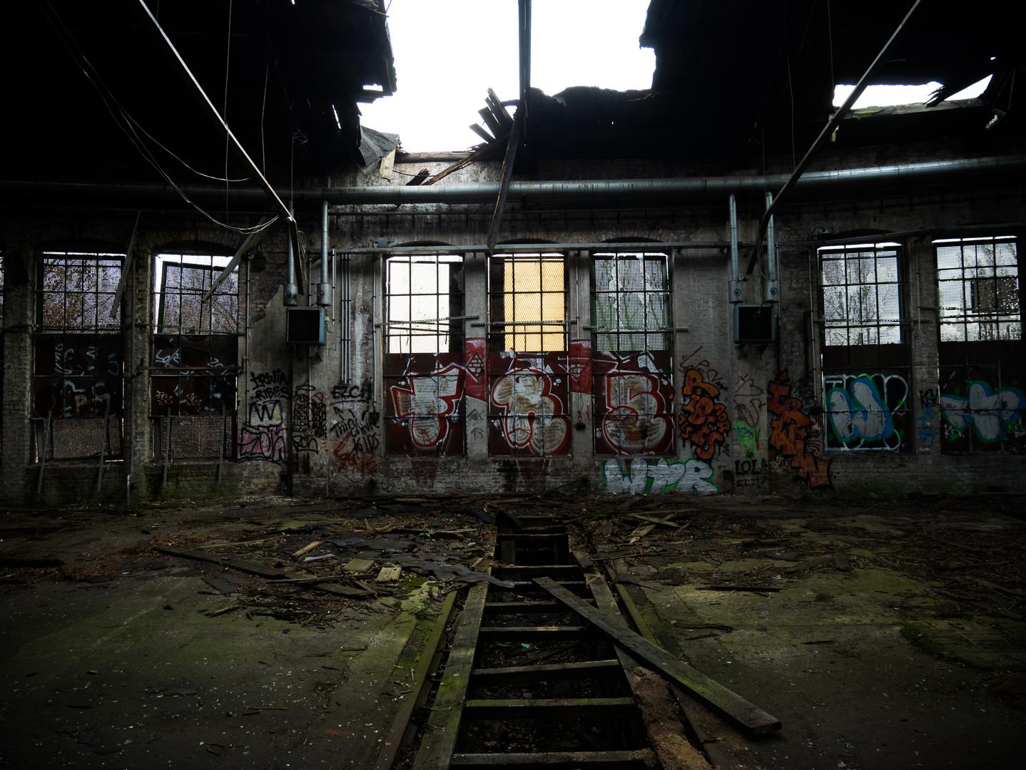 GERMANY, Berlin – Abandoned train repair station. © Marko Kecma