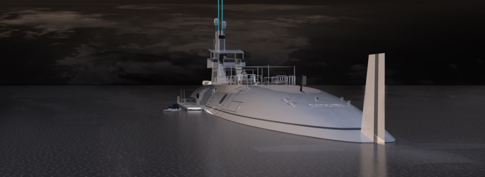 SuperRich can now buy their own 377 foot SubmarineYacht