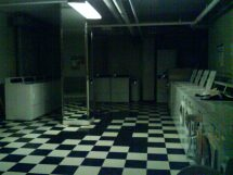 Creepy Basement Laundry Room