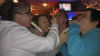 Shots with the girls.