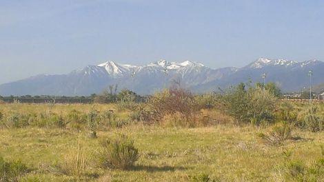 Sierra Nevada from Carson City.