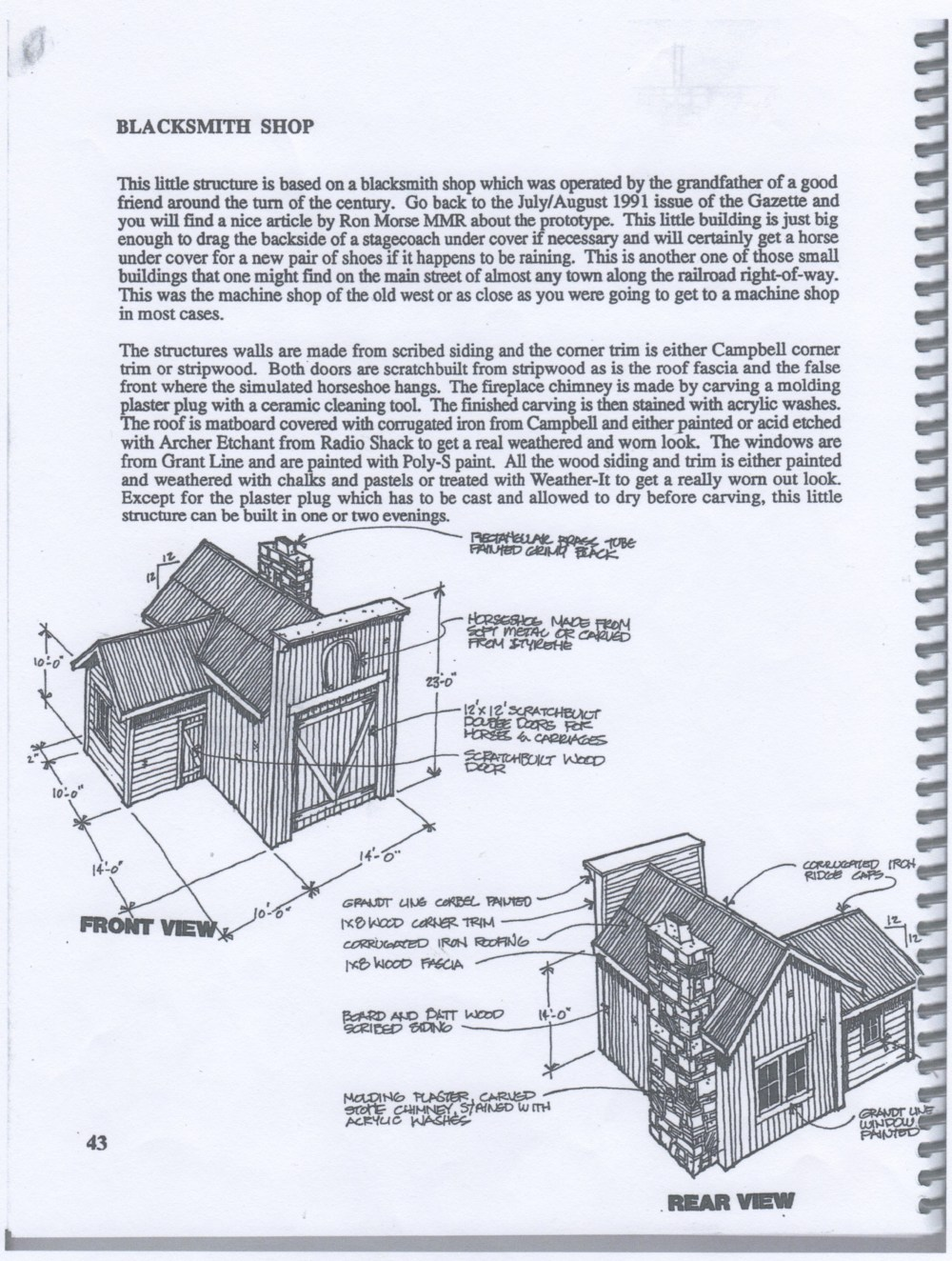 medium resolution of each project has an introductory page with a written description of the structure and an isometric sketch that has no scale