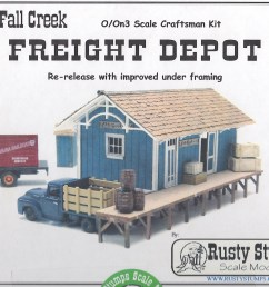 some time ago i bought this rusty stumps kit because i liked the look and the size of it i had already built a passenger freight depot for silverton that  [ 3688 x 2809 Pixel ]